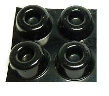 Speaker Stand Isolation Gel Pads for Atacama & Mission Speaker Stands (Black) x4
