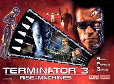 T3 Terminator 3, soprano, señor de los anillos Pinball Gabinete Luz Mod Rojo