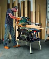 Tavolo banco da Lavoro Pieghevole con Portata 450 kg con morsetti bricolage