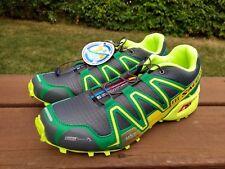 NEW Salomon Speedcross 3 Climashield M&S Trail Running Hiking Shoe Sz 11 Bayou