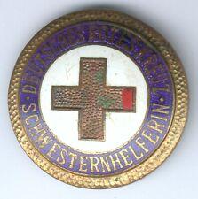 seltenes orig. Abz. Deutsches Rotes Kreuz Schwesternhelferin - starke Fehler RAR