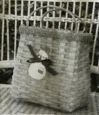 Basket Weaving Pattern Snowlady Shopper by Maurine Joy