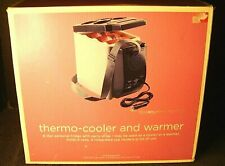 New listing Superex Thermo Cooler And Warmer Personal Fridge 4 Cup Holders with carry strap