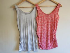 Red Herring and New Look maternity Size 12 sleeveless top bundle (2 items)