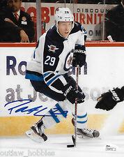 Winnipeg Jets Patrik ( Patrick ) Laine Signed Autographed 8x10 Photo JSA COA A