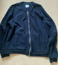 Mens Peter Worth Bomber Jacket NAVY 2XL Smart Casual RRP100