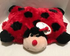 "Ladybug Pillow Pets Stuffed Animal Large Plush Kids Toys 18""  - SG - New"