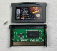 Nightmare Before Christmas Pumpkin King (Nintendo Gameboy Boy Advance GBA) Cart