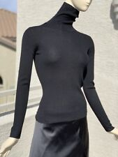 Theory Light Weight Tights Turtleneck Sweater Small