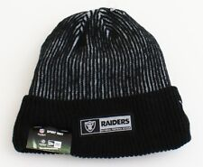 a59b4ba0498 New Era NFL Oakland Raiders Sport Knit Cuff Beanie Skull Cap Men s One Size  NWT