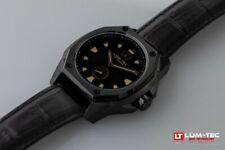 Lum-Tec Watch V11 Phantom Mens Black Dial Big Date Limited Edition AUTH DEALER