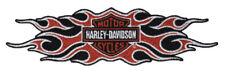 Harley Davidson® Flames Bar & Shield Emblem Patch LG EM419664 New Genuine