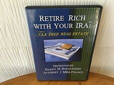 Retire Rich With Your IRA: Tax Free Real Estate!  Darius M, Barazandeh  4 CD SET