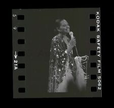Diana Ross - Original Vintage 35mm Camera Negative Peter Warrack w/ © Transfer
