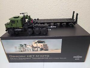 Oshkosh HET M1070 Transporter M1000 Trailer Sword TWH 1:50 Model #SW1500-K New!