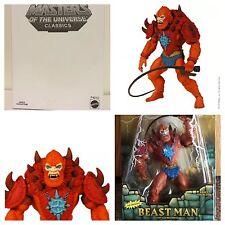 MOTUC Beast Man Masters of the Universe Classics He-Man Club Eternia She-Ra New