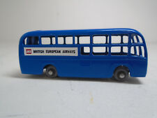 LESNEY MATCHBOX #58A BEA AIRPORT COACH.VERSION2 RESTORED TO NM, GPW