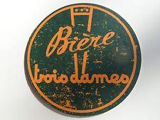 Beer Brewery Coaster ~*~ Brasserie TROIS DAMES Biere ~ Saint-Croix, SWITZERLAND