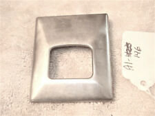 """Seat Belt latch metal Cover, Stamped """"300"""", Chevy, Chevelle, more"""