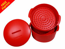 Tupperware Steam It Cook Steamer Container (2 layer) with FREE Express