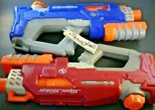 Hasbro Super Soaker Rattler BLUE RED RETIRED Water Pistol Blaster Vintage