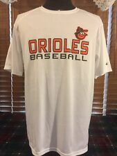 Men's VGUC BADGER SPORTS Large Baltimore Orioles #11 Figueroa Baseball Shirt