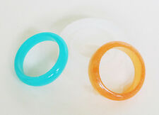 Clear silicone resin ring mold unique shapes jewelry faceted domes crafts