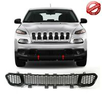 For 2014-2018 Jeep Cherokee Matte Black Front Lower Grille w/o Cruise Control