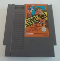 DONKEY KONG  NINTENDO NES VIDEO GAME CARTRIDGE ( TESTED AND WORKING ) PAL A
