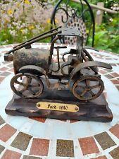 Scrap Metal Industrial Art Model Ford 1910