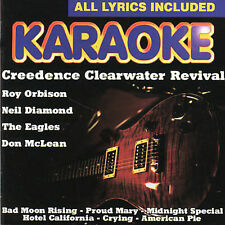 FREE US SHIP. on ANY 2 CDs! NEW CD Karaoke: Karaoke: Creedence Clearwater Reviva