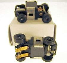 3pc 1990 Galoob 1/87th RUNNING Unused CHASSIS Slot Car New Old Factory Stock A++