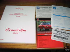 2004 PONTIAC GRAND AM SE OWNERS MANUAL GRANDAM NEW SET