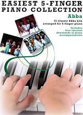 Klavier Noten : ABBA (Easiest 5 Finger Collection) sehr leicht - leicht ANFÄNGER