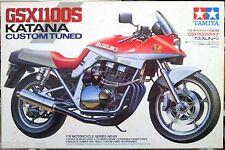 Tamiya Motorcycle Kit 1/12 Suzuki GSX1100S Katana Custom Tuned