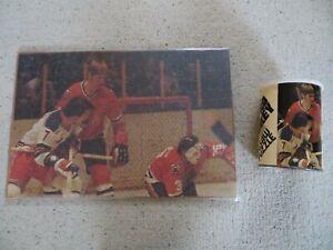1972 Chicago Black Hawks /New York Rangers Jigsaw Puzzle NHL Pro Hockey Complete