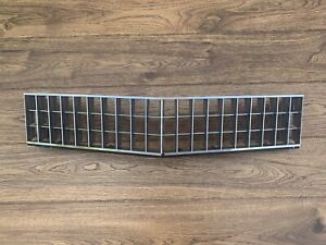 1978 Cadillac DeVille Grill Grille