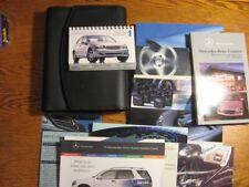 2003 Mercedes Benz C class OEM Owners Manual Set