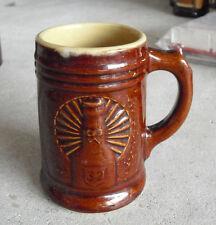 "Vintage 1930s Stoneware Pottery Sweet Adeline Beer Mug Stein 4 7/8"" Tall"
