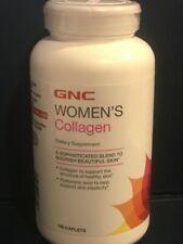 GNC WOMEN'S COLLAGEN 180 Caplets EXP 05/2022 Sealed