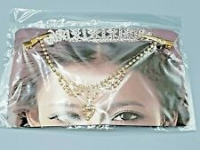 FOREHEAD JEWELRY WITH  RHINESTONES (CHOOSE ONE:  SILVER OR GOLD COLOR)