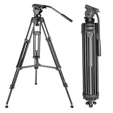 """61""""/155cm Aluminum Tripod with 360 Degree Pan Head for Video Camcorder"""