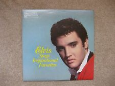 Elvis Sings Inspirational Favorites, RCA  LP Record, 1983 Readers Digest