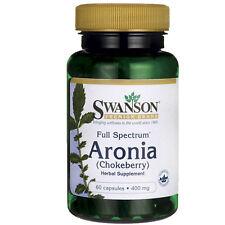 Full Spectrum Aronia (Chokeberry) 400 mg 60 Caps by Swanson Premium