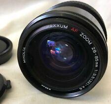 Minolta Maxxum 28-85mm F/3.5-4.5 AF Lens Japan - Free Fast Shipping - C12