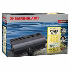 Marineland Pro Series Bio-Wheel Power Filter Emperor 400 Up To 80 Gal Aqua Tanks
