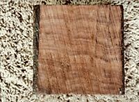 (2) LOT OF 2, EXOTIC ROSEWOOD TURNING WOOD BOWL BLANK LATHE Size: 4 x 4 x 1 1/4""