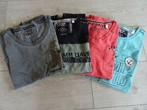 Camp David Shirts 4 Stück Gr. M bunt