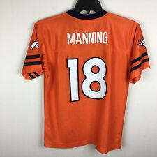 Peyton Manning Denver Broncos #18 Football Jersey NFL Youth XL 16-18 Orange