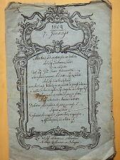 1809-VENDITA CASA-BOLOGNA-MANOSCRITTO-G.LANDI-A.P.GIACOMELLI